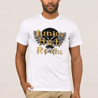 Junior High Rocks - Skull Wings T-Shirt