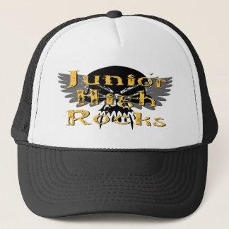 Junior High Rocks - Skull Wings Trucker Hat