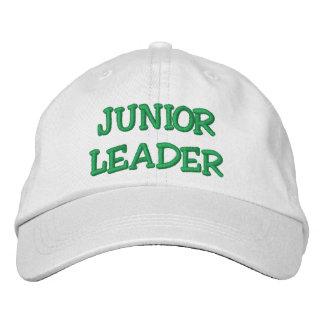 JUNIOR LEADER EMBROIDERED BASEBALL CAP