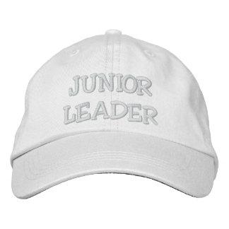 JUNIOR LEADER EMBROIDERED BASEBALL HAT