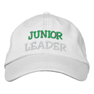 JUNIOR LEADER EMBROIDERED BASEBALL HAT