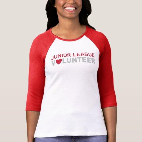 Junior League of Long Beach 34 Sleeve T_Shirt