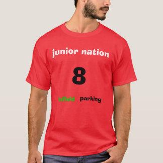 junior nation, 8, infield, parking T-Shirt