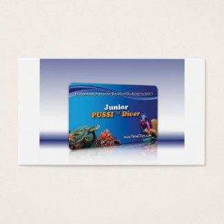 """Junior PUSSI Diver""  Certification Card"