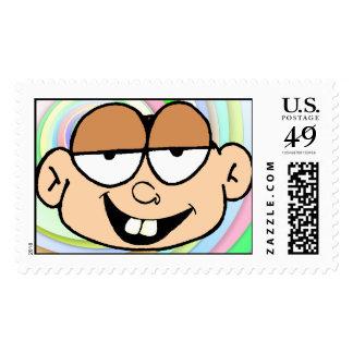 Junior Rockhead Postage Stamp