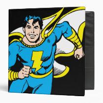 captain, marvel, family, mary, junior, thunder, shazam, black, billy, batson, justice league heroes, justice, league, justice league logo, justice league, logo, hero, heroes, dc comics, comics, comic, mic book, comic book hero, comic hero, comic heroes, comic book heroes, Binder with custom graphic design