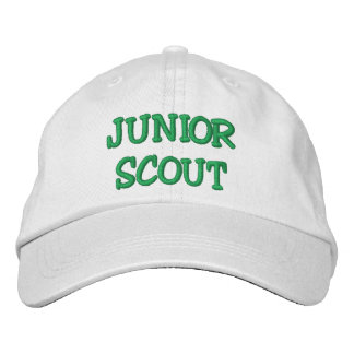JUNIOR SCOUT EMBROIDERED BASEBALL CAP