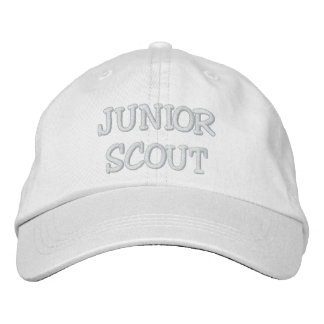 JUNIOR SCOUT EMBROIDERED BASEBALL HAT