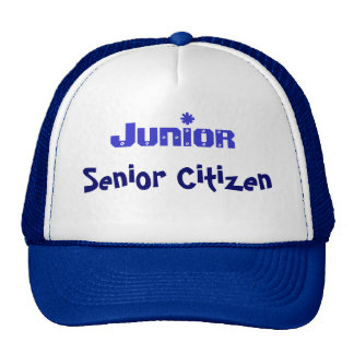 Junior Senior Citizen Trucker Hat