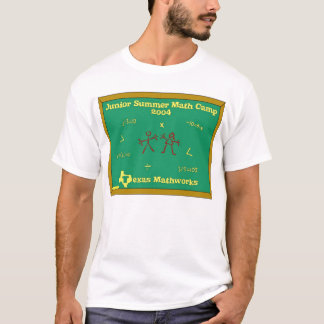 Junior Summer Math Camp T-Shirt