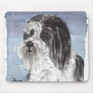 Junior the Bearded Collie Mouse Pad
