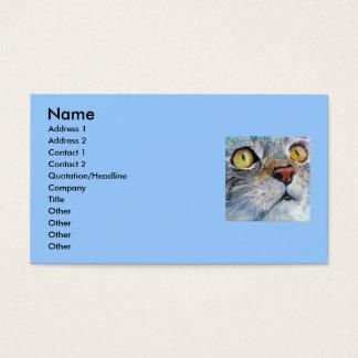 Junior the Cat Business Card