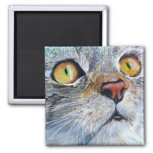 Junior the Cat Fridge Magnet