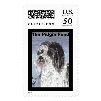 Junior, The Pidgie Fund Postage