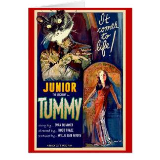 Junior the Uncanny: The Tummy card