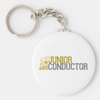 Junior Train Conductor Keychain