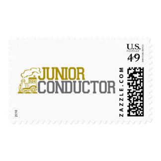 Junior Train Conductor Stamp