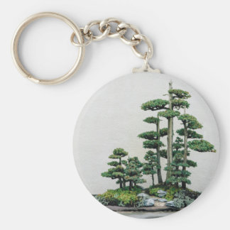Juniper Bonsai Forest Keychain