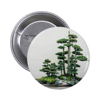 Juniper Bonsai Forest Pinback Button
