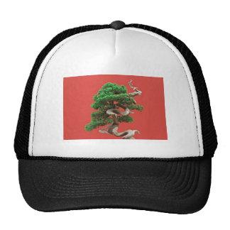 Juniper bonsai trucker hat