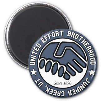 Juniper Creek Utah - United Effort Brotherhood Fridge Magnets