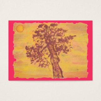 juniper tree sunset business card