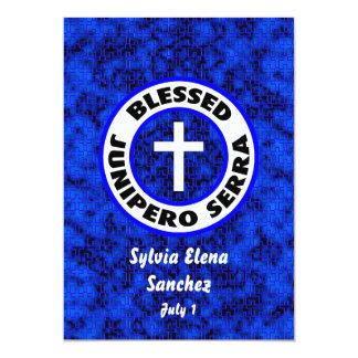 Junipero bendecido Serra invita Invitación 12,7 X 17,8 Cm