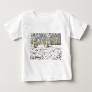 Junipers and Lava Rock in Watercolor Baby T-Shirt