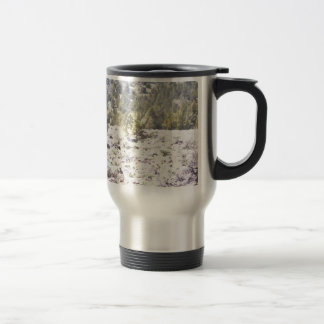 Junipers and Lava Rock in Watercolor 15 Oz Stainless Steel Travel Mug