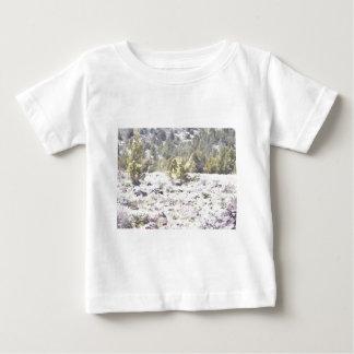 Junipers and Lava Rock in Watercolor Shirt