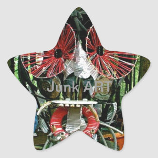 Junk ART Star Sticker