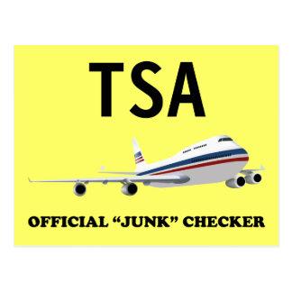 Junk Checker for TSA Dark Postcard