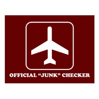 Junk Checker for TSA Light Postcard