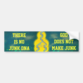 junk DNA  bumper sticker