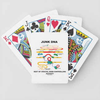 Junk DNA Seat Of Crucial Gene-Controlling Activity Bicycle Playing Cards