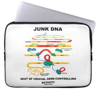 Junk DNA Seat Of Crucial Gene-Controlling Activity Laptop Computer Sleeves