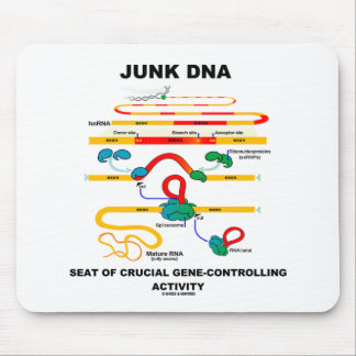 Junk DNA Seat Of Crucial Gene-Controlling Activity Mouse Pad