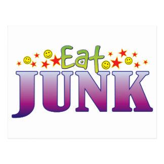 Junk Eat Postcard