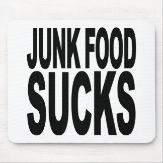 Junk Food chupa Alfombrilla De Raton