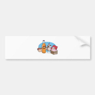 junk food galore car bumper sticker
