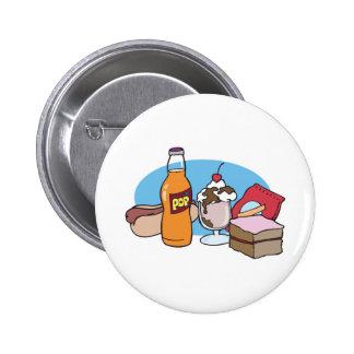 junk food galore 2 inch round button
