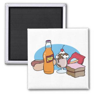 junk food galore magnet