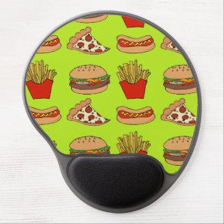 Junk food gel mousepad