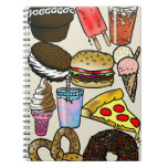 Junk Food Photo Notebook