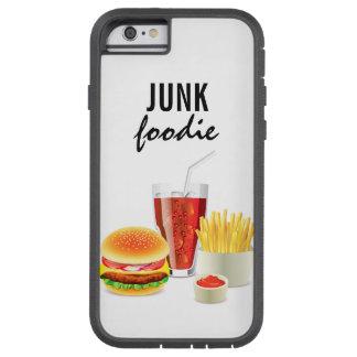 junk foodie iphone case