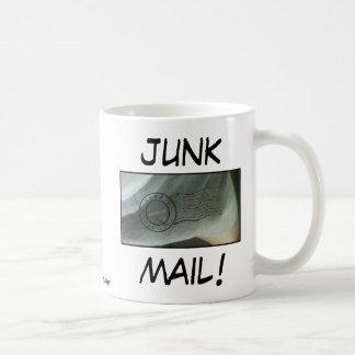 JUNK MAIL! - Anthony Weiner Classic White Coffee Mug