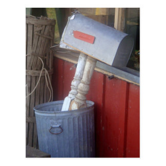 """Junk Mail"" Photography Postcard"