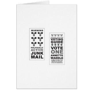 Junk Mail Pop Art Greeting Card