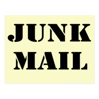 Junk Mail, Post and Greeting Card