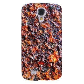 Junk Metal Rigid Brown Old Samsung Galaxy S4 Cover